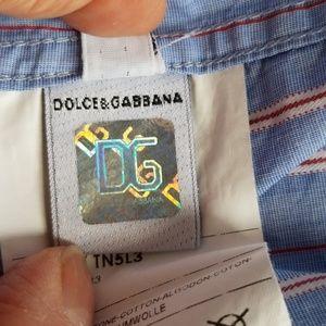 Dolce & Gabbana Tops - Dolce and Gabbana Women's Blouse Top Size 42